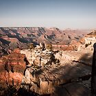 Early evening in the Canyon by WiredMarys