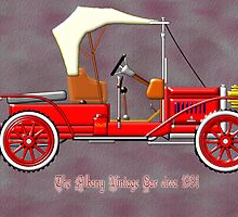 The Albany Vintage Car circa 1981 by Dennis Melling