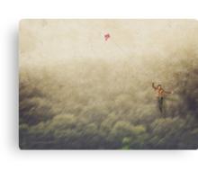 My heart takes flight Canvas Print