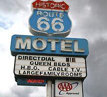 Arizona Route 66 Motel Seligman by albyw