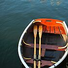 A Little Boat in Camden Harbor by reedonly