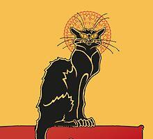 Tournée du Chat Noir - The Black Cat Tour (v2) by RochVanh