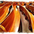 Pews at St. Patrick by reedonly