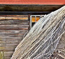 Fishing Shack and Nets by reedonly