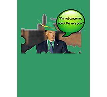 Mitt Romney i'm not concerned about the very poor robin hood 2012 Photographic Print