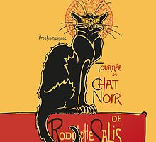Tournée du Chat Noir - The Black Cat Tour (v3) by RochVanh