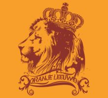 oranje leeuwen by pablo honey