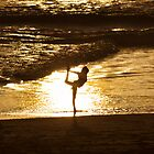 Beach Cheerleading by cjfehr