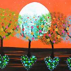      Heart Trees     by emelisa