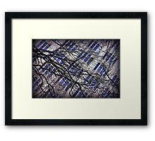 cross over Framed Print