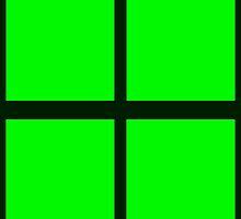 Green Rectangles by Paula J James