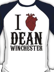 Anatomical Love - Dean Winchester T-Shirt