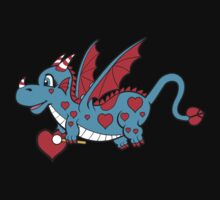 Pepper The Love Dragon by Denise  Vasquez