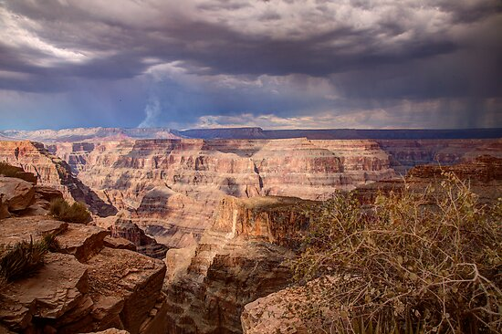 Cloaked in the Drama of the Approaching Storm by Dale Lockwood