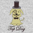 Top dog by Zozzy-zebra