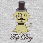 Top dog by Zozzy-zebra
