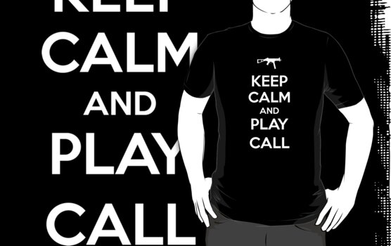 Keep calm and play Call by aizo