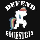 Defend Equestria - Rainbow Dash by Fluttershy808
