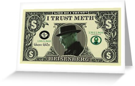 $$ Heisenberg - Breaking Bad $$ - iPhone cover, T-Shirt and Greeting card by Tim Topping