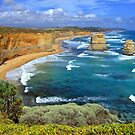 The Apostles Great Ocean Road Victoria by Janette Rodgers