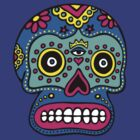 Mexican Skull by dukepope