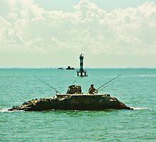 Vietnam Fisherman by AdamRussell
