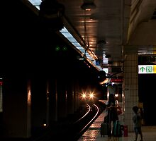 Taipei Train by AdamRussell