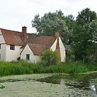 Willy Lotts house featured in the Haywain by Pauws99
