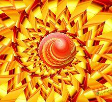Summertime Spiral by wolfepaw