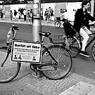 Berlin on bike by Manuel Gonçalves