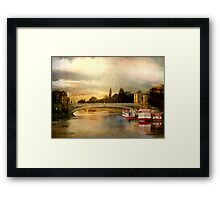 Lendal Bridge Framed Print