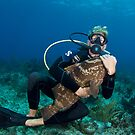Grouper Hug by Todd Krebs