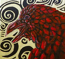 Raven in Red by Lynnette Shelley