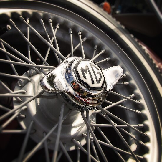 MG Wire Wheel by mtmeegallery