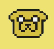 Adventure Time Jake the Dog Pixal Face by HighDesign