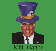 Mitt Romney 2012 mad Hatter by Tia Knight