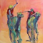 Camel races by christine purtle