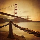 Vintage Golden Gate by Philippe Sainte-Laudy