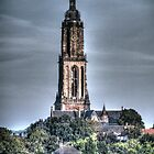 Church in Rhenen by Peter Wiggerman