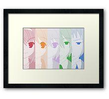 Super Driver - Haruhi Suzumiya Framed Print