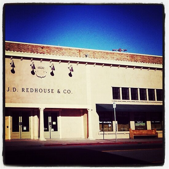 J.D. Redhouse, Downtown Willits by Melodee Scofield