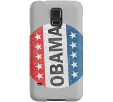 Vote Obama 2012 Vintage Button Shirt Samsung Galaxy Case/Skin