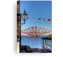 Bridge and Bunting Canvas Print