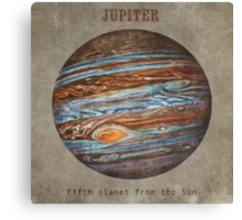 Fifth Planet  Canvas Print