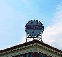 Downtown with Dr Pepper by ThinkPics