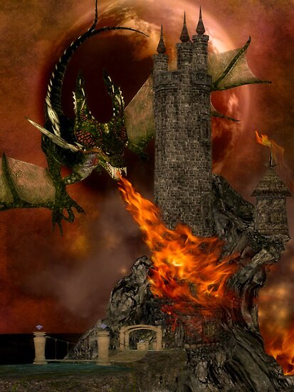 Dragon's Siege by shutterbug2010