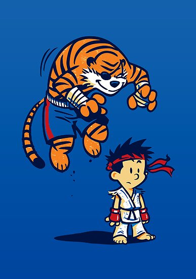 Tiger! - POSTER by WinterArtwork