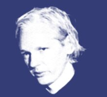 Julian Assange by portispolitics