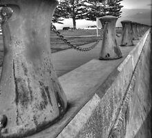 Bollards by DavidsArt