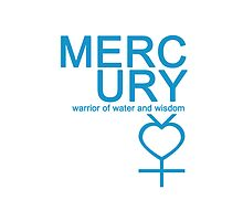 Mercury Warrior Symbol iPhone4/4S Case by syaorankung